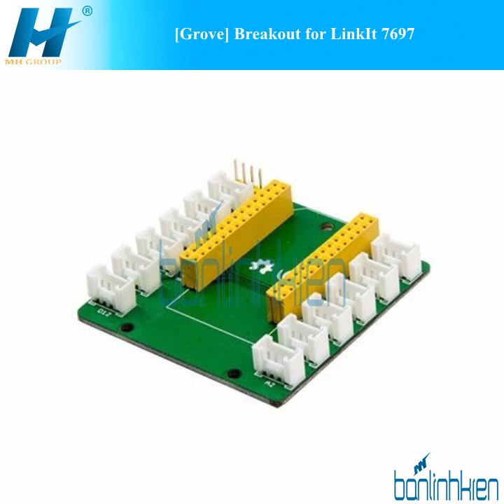 [Grove] Breakout for LinkIt 7697